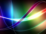Abstract Glowing Ribbons F1