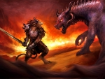 Charr vs. Dragon