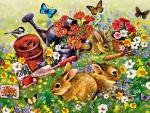 Garden Bunnies f