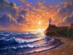 ★Lighthouse Sunset★