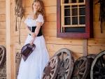 Western Style Cowgirl