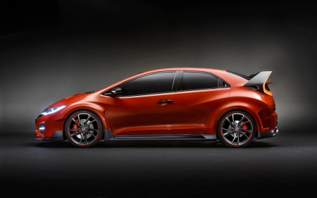 honda civic type r concept - honda, concept, japanese, civic