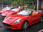 Red Ferrari Roads Series