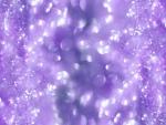Purple glitttering