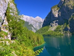 Above lake Obersee