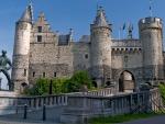 Het Steen Fortress, Antwerp, Belgium