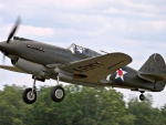 WWII Curtiss P40 Warhawk