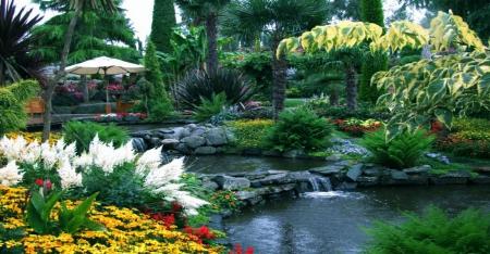Flower Garden Exotic