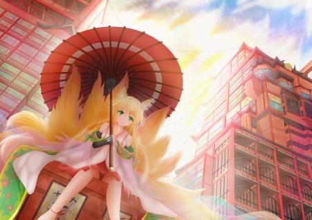 Kitsune Other Amp Anime Background Wallpapers On Desktop