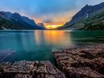 St. Mary lake-Glacier NP