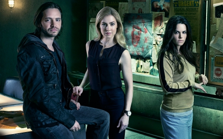 12 Monkeys - TV, Series, Drama, Mokeys, 12