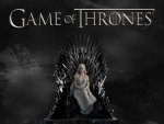 Daenerys on Throne - Game of Thrones
