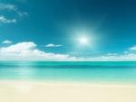 Caribbean Sea And Beach