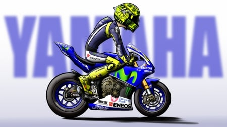 Valentino Rossi 2015 Winter Test Yamaha Motorcycles Background