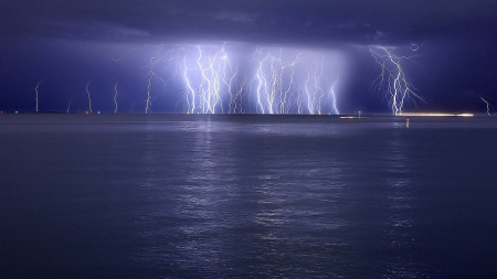 Electric Storm Forces Of Nature Amp Nature Background