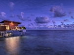 Maldives Islands Evening