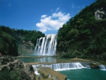 Waterfall in China