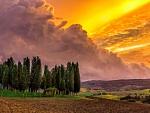 Tuscan skies_(Italy)