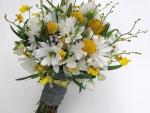 *Spring swede bridal bouquet*