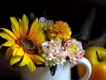 *Cup of flowers*