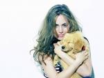Eliza Dushku & Puppy