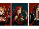 Harley Quinn - Poison Ivy - Catwoman