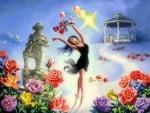 Roses Ballet in Heaven