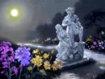 Moonlight Serenade Statue