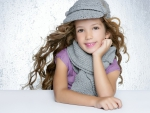 very cute young girl