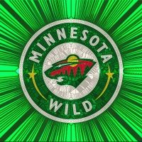 Minnesota Wild Cracked glass,Home