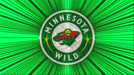Minnesota Wild Cracked GlassHome