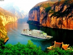 Yangtze River in Asia