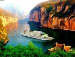 Yangtze River in Asia