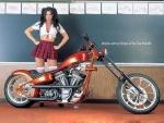 Motorbike Babe