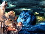 The Lion of the the tribe of Judah