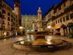 Town Square in Verona, Italy