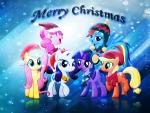 Christmas Mane Six