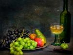 Still Life with Fruit and Wine