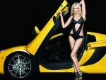 Paulina Gretzky - McLaren 12C Spider