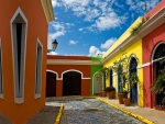 Colorful Buildings in Old San Juan, Puerto Rico