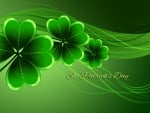 Saint Patricks Day Shamrocks
