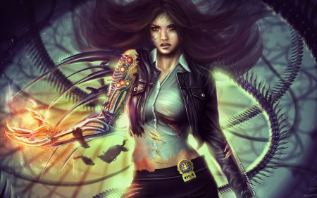 Witchblade - game, video, blade, Witch
