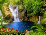 Lovely waterfall