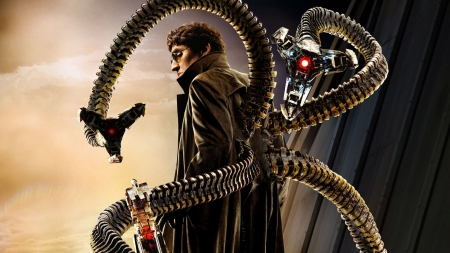 doctor octopus - spiderman, doctor, octopus, claw
