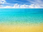 Pristine Caribbean Beach
