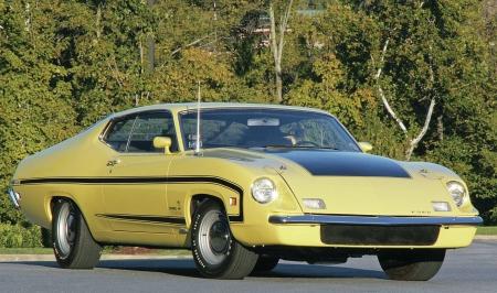 Ford Torino King Cobra Classic Yellow
