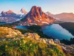 Canadian Mountain Landscape