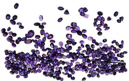 large amethyst collection ceylon sri lanka cut faceted - cut, gemstones, faceted, amethyst