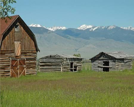 Abandoned Ranch, Montana
