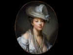 The White Hat by Greuze